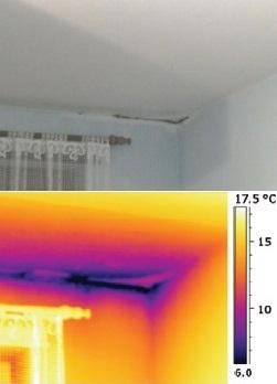 A hőkamerás vizsgálat az épület rejtett problémáit is feltárja