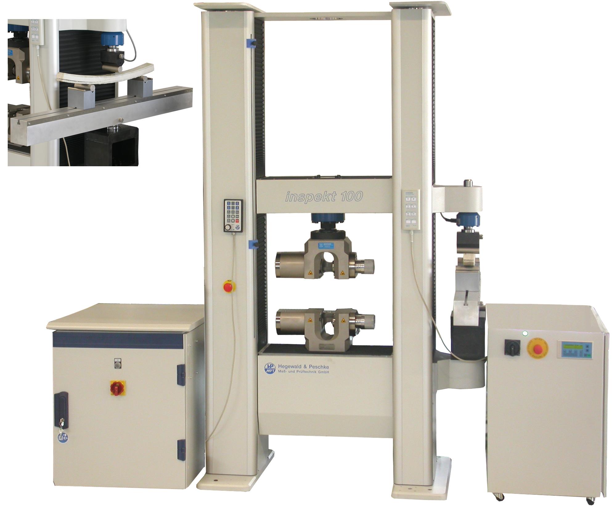 Inspekt elektromechanikus szakítógépek két munkatérrel