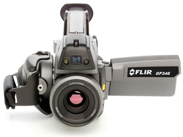 CO érzékelés és villamosipari ellenőrzés FLIR GF infrakamera használatával