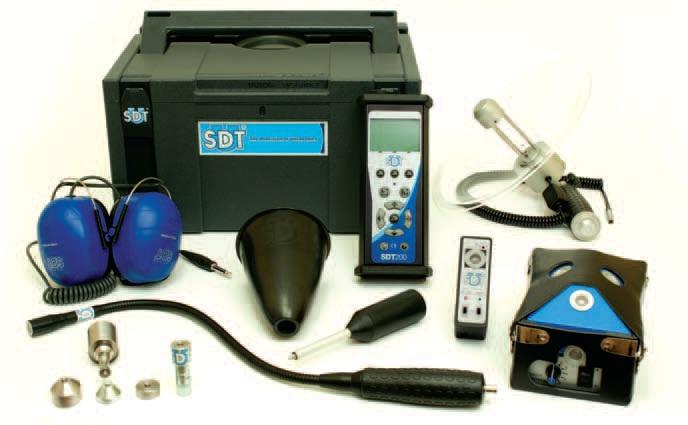 SDT 200 Ultrahangos hibakereső