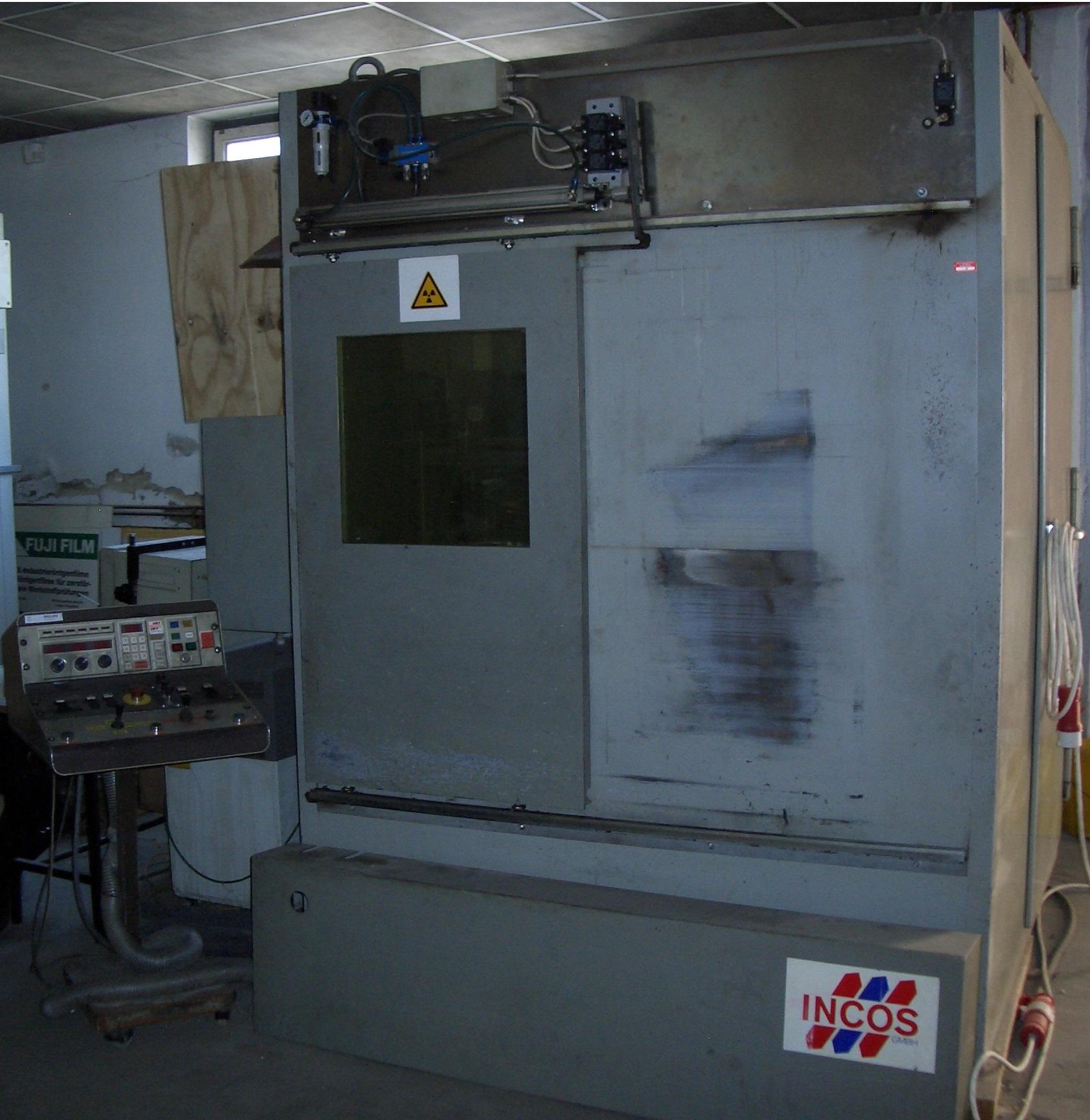 MP 1/6 225 kV használt röntgen berendezés