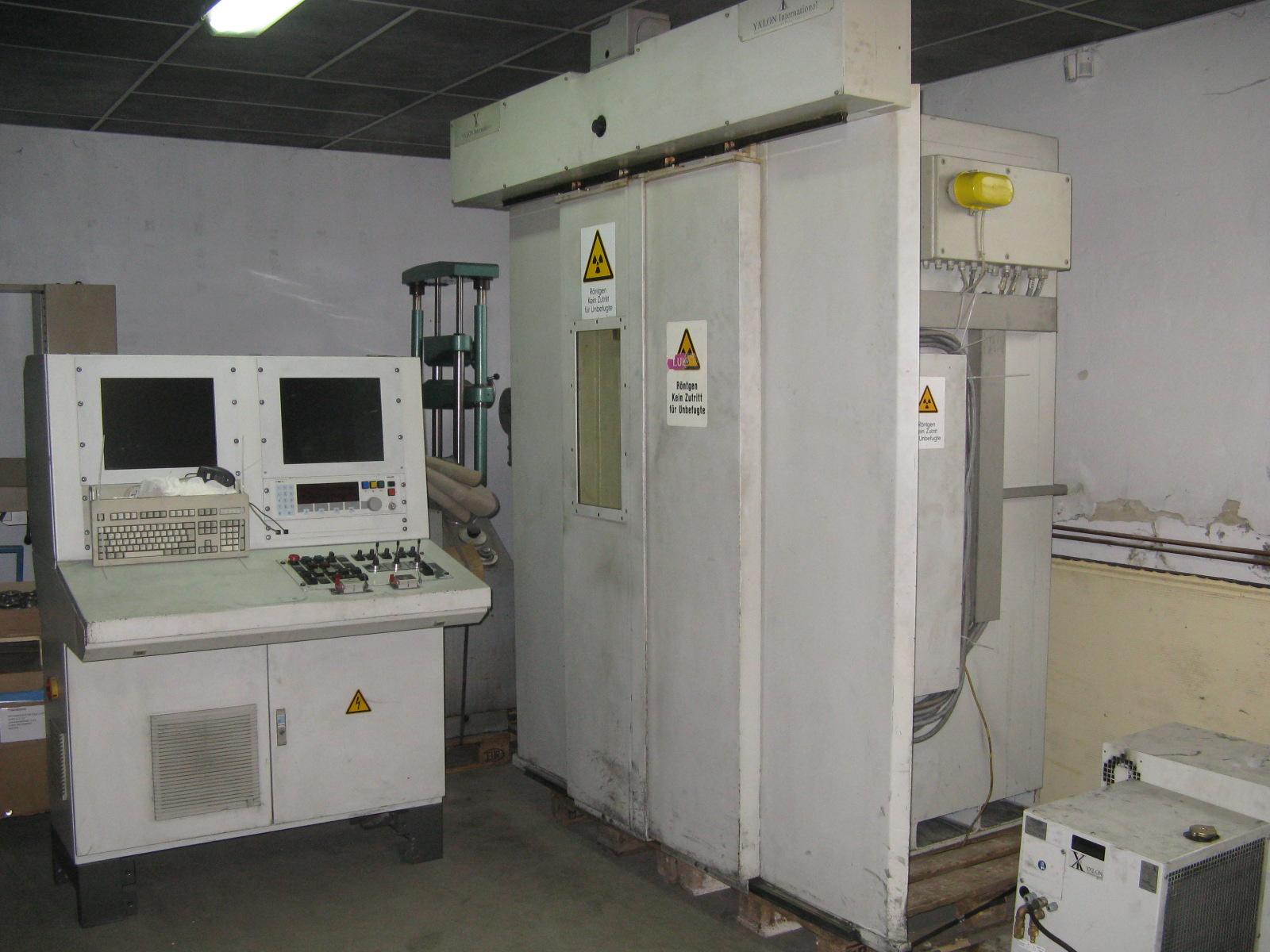 MU17 ST használt röntgen kabin