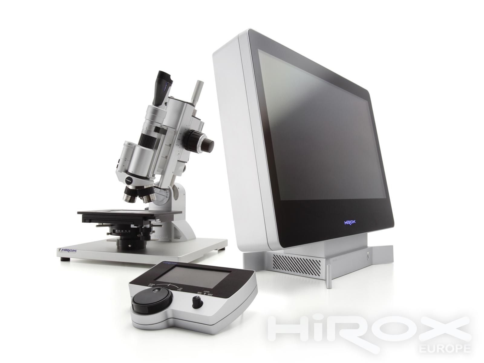 Új generációs Hirox KH 8700 3D-s digitális mikroszkóp egyszerűen és elegánsan
