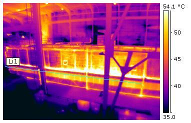 P-szériás hőkamera papirgyári alkalmazása