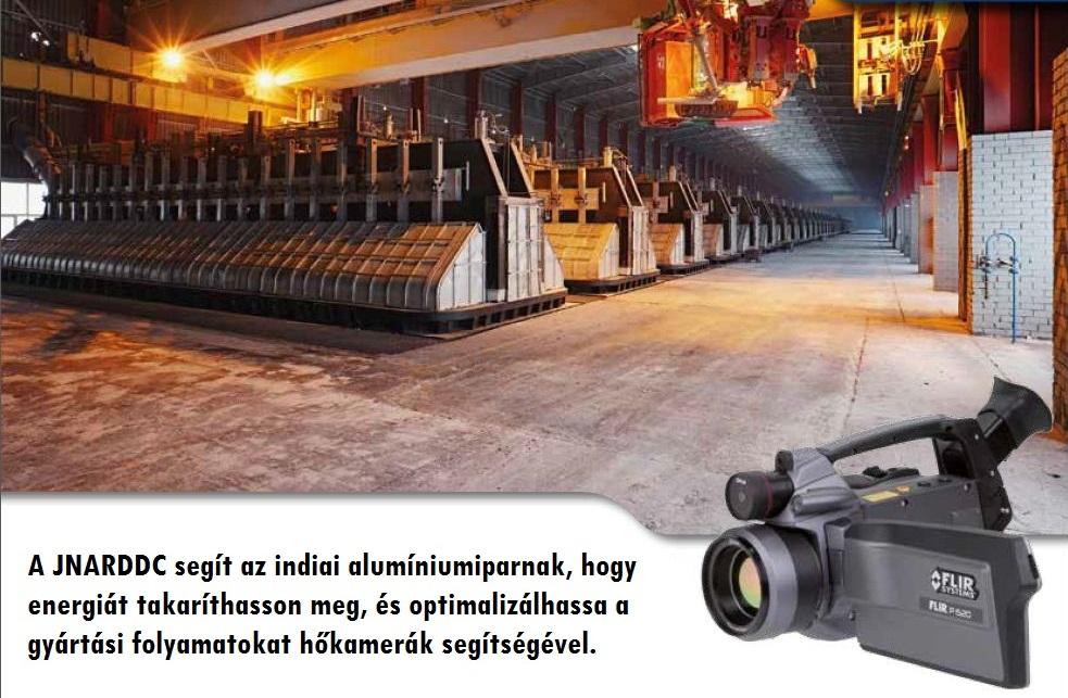 Gyártási folyamat energetikai optimalizálása hőkamera segítségével