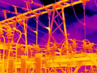 Villamosipari mérések infra hőkamerával