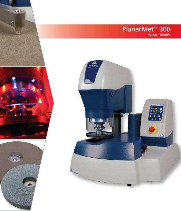 Új termék – PlanarMet 300 asztali síkköszörű