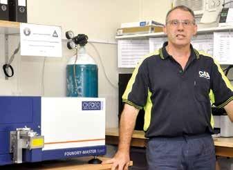 Anyagelemzés optikai emissziós spektrométerrel
