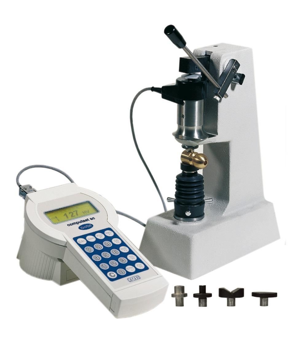 Computest SCX hordozható elektronikus keménységmérő gép