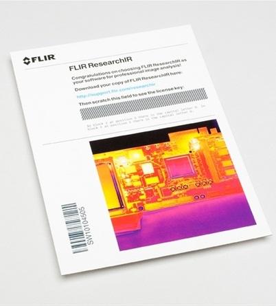 FLIR ResearchIR hőkamera szoftver