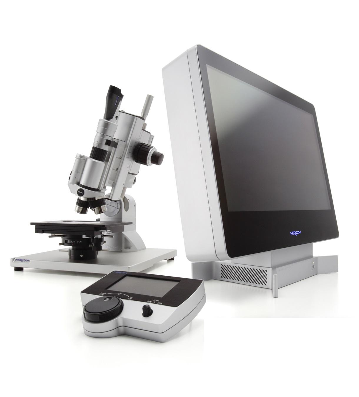 Hirox KH 8700 3D forgófejes digitális mikroszkóp