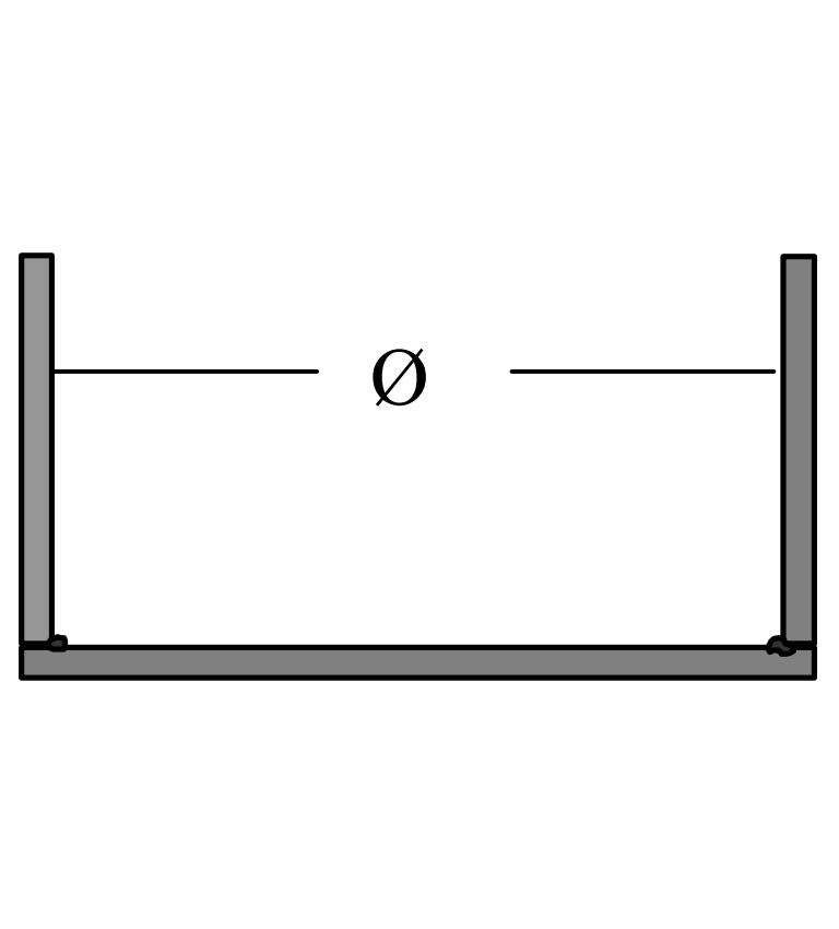Vákuumkeret köralapú tartály sarokvarratainak vizsgálatához