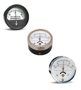 Magnaflux maradék mágnesességet mérő analóg műszerek 10-20G