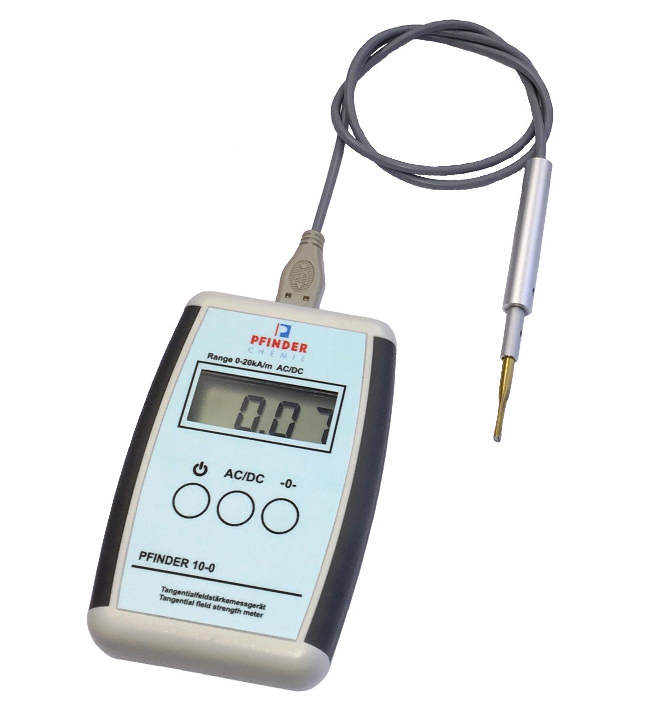 Pfinder 10-0 térerősségmérő