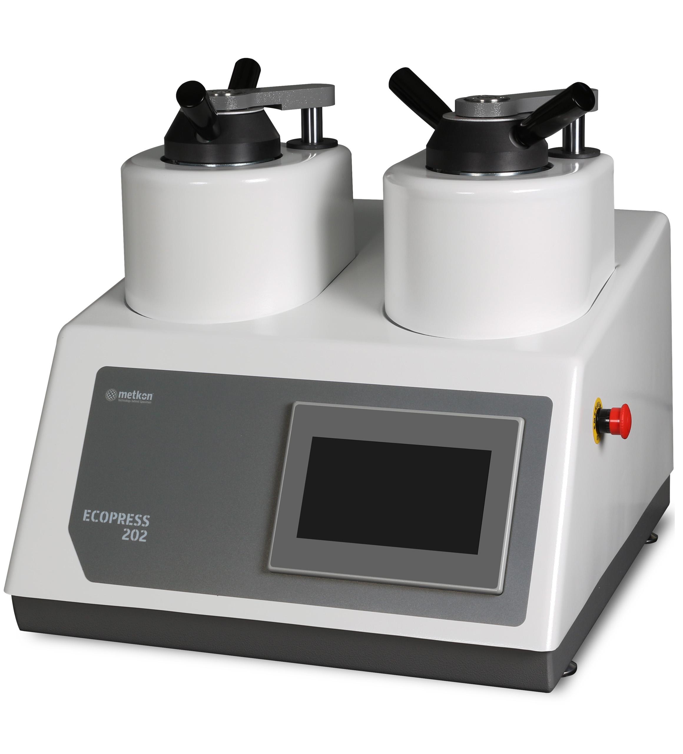 Ecopress 202 kéttornyos programozható automata melegbeágyazógép