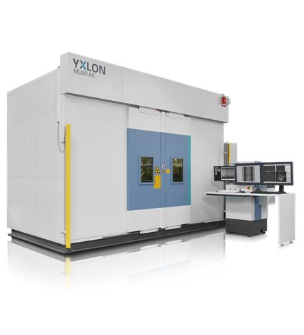 MU80 AE ipari röntgenberendezés CT opcióval