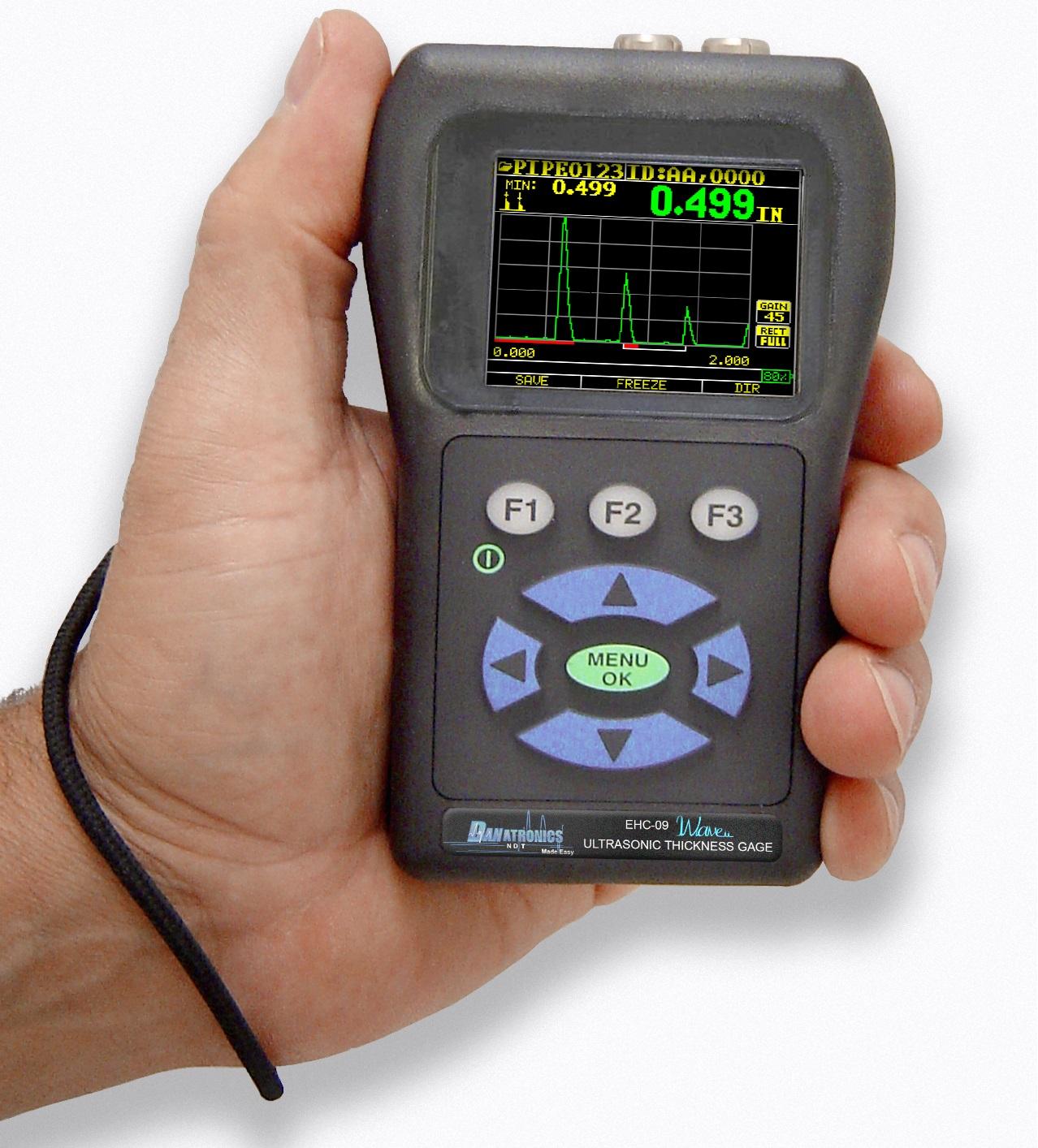 Danatronics EHC-09 színes UH falvastagságmérő széria