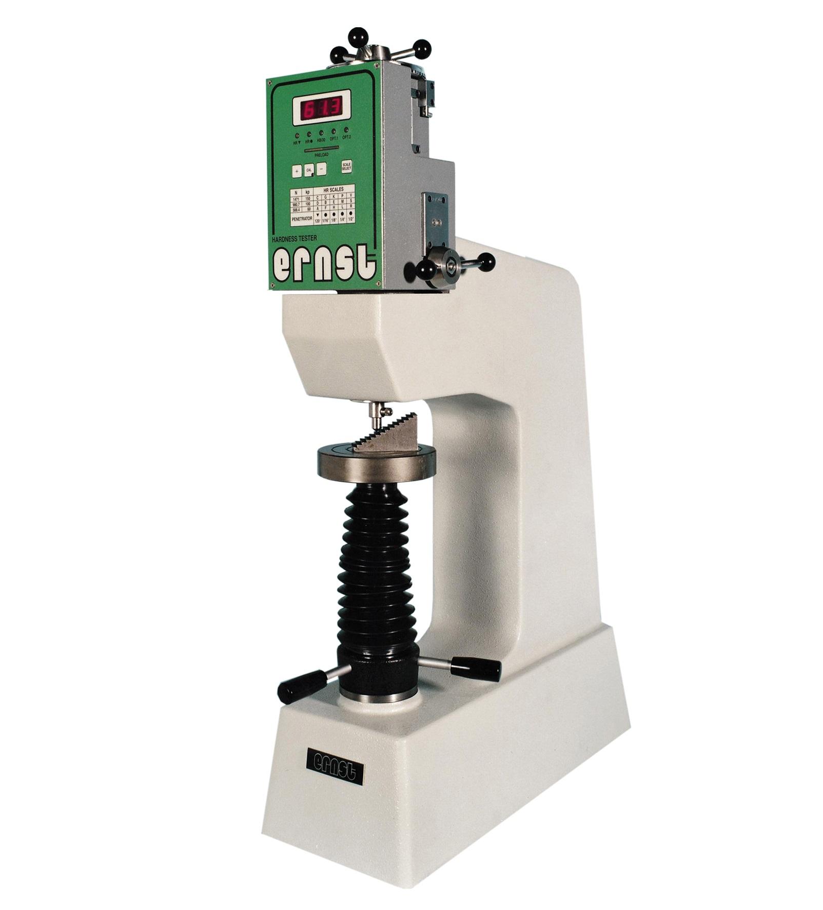 Ernst NR3D Rockwell és szuper-Rockwell keménységmérő