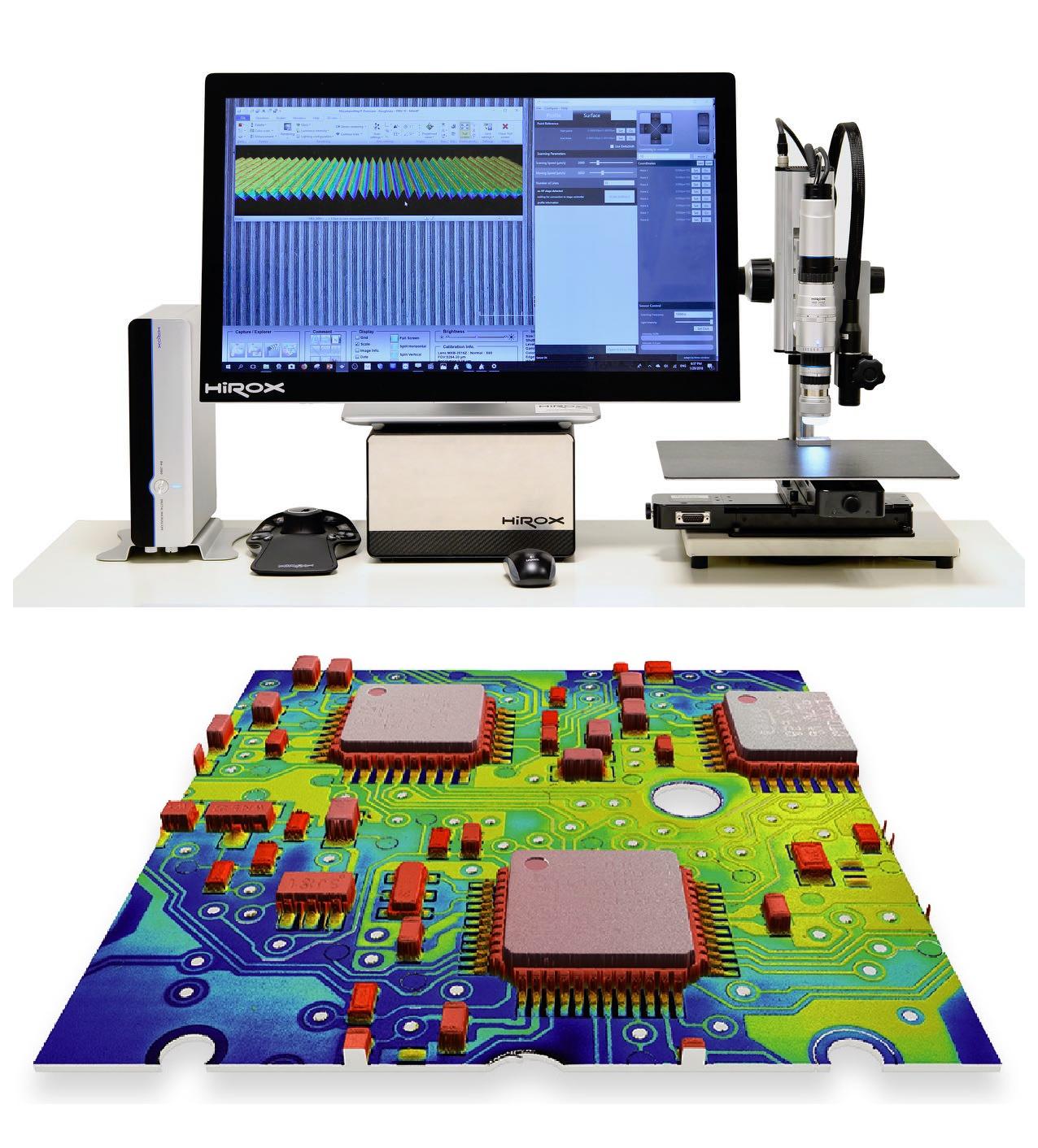 Bemutató: HIROX digitális 3D videomikroszkópok