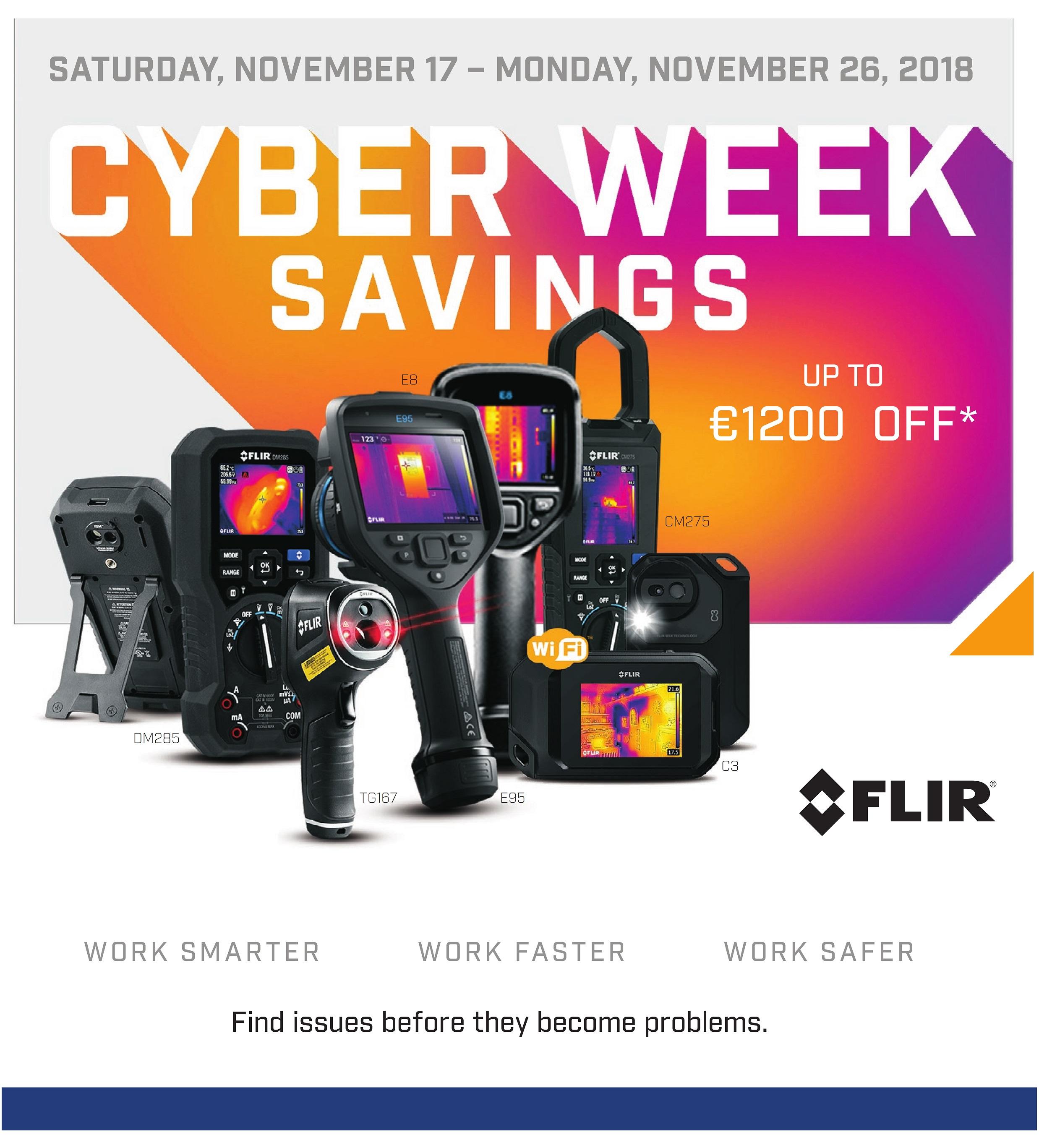 FLIR Black Friday/Cyber Week, akár 20% kedvezménnyel!